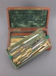 A brass and ivory mathematical necessaire