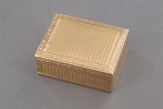 A gold patch-box