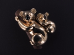A gold koala brooch